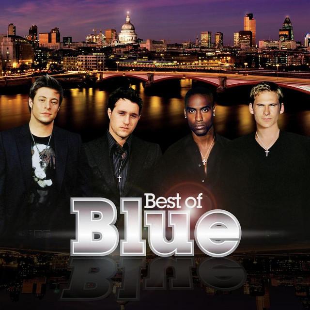 Curtain Falls - Blue