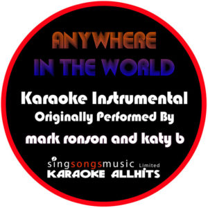 Anywhere in the World - Katy B & Mark Ronson